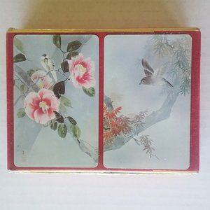Vintage Bird Playing Cards Two Deck Set